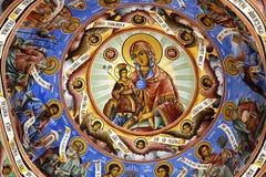 Detail van de Iconografie stock afbeeldingen