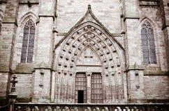 De kathedraal van Rodez Stock Afbeeldingen