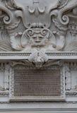 Detail van de Kerk van St Peter en St Paul, Vilnius, Lithuan Stock Foto