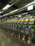 Detail van de lopende band van de draadfabriek Royalty-vrije Stock Foto's