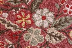 Detail van de met de hand gemaakte deken van het wolgebied Royalty-vrije Stock Foto