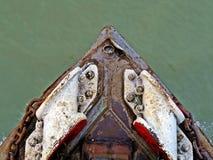 detail van de stoomboot van de Raketpeddel, Buriganga-Rivier, Bangladesh royalty-vrije stock foto