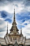 Detail van de Teen van Tempelmaha wihan luang Pho Royalty-vrije Stock Foto