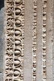 Detail van de Tempel van Hadrian in Ephesus. Izmir Turke Stock Fotografie