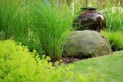 Detail van de tuin Stock Afbeeldingen