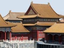 Detail van de Verboden Stad in Peking Royalty-vrije Stock Foto