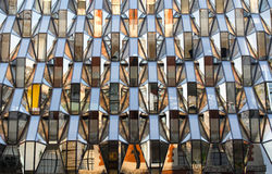 De samenvatting van vensters Royalty-vrije Stock Foto's