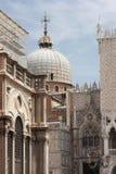 Detail van Doge& x27; s Paleis in Venetië Italië Europa royalty-vrije stock foto