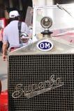 Detail van een 1927 OM 665 Superba Stock Foto