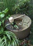 Detail van een boeddhistische tempel Stock Foto