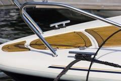 Detail van een boot in Noorwegen Stock Foto's
