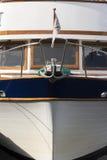 Detail van een boot in Noorwegen Stock Afbeelding