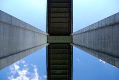 Detail van een brug Stock Afbeelding
