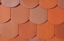 Detail van een dak Stock Foto
