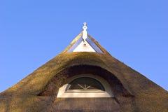 Detail van een dak Stock Afbeeldingen