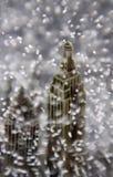 Detail van een de sneeuwbol van New York Royalty-vrije Stock Foto