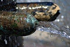 Detail van een fontein Royalty-vrije Stock Foto's