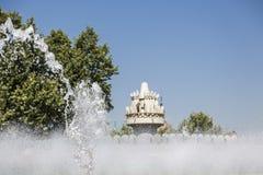 Detail van een fontein Stock Afbeeldingen