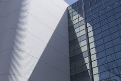 Detail van een gebouw van de grond in de stad van Kobe in Japan op een zonnige dag royalty-vrije stock fotografie