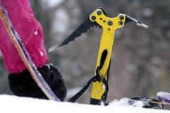 Detail van een het beklimmen apparatuur royalty-vrije stock foto