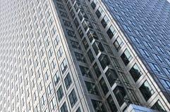 Detail van een horizongebouw Stock Foto's
