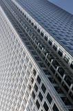 Detail van een horizongebouw Stock Afbeelding