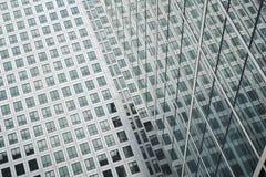 Detail van een horizongebouw Stock Afbeeldingen