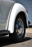 Detail van een klassieke auto Stock Foto