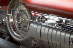 Detail van een klassieke auto Stock Foto's