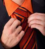 Detail van een mens Stock Foto's