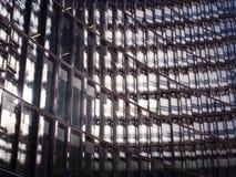 Detail van een modern gebouw Stock Fotografie