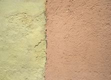 Detail van een muur Stock Afbeeldingen