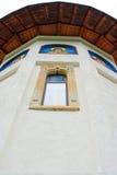 Detail van een orthodoxe kerk Stock Foto's