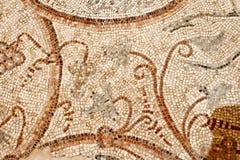 Detail van een oud kleurrijk mozaïek Royalty-vrije Stock Foto's