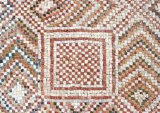 Detail van een oud kleurrijk mozaïek Royalty-vrije Stock Foto