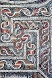 Detail van een oud kleurrijk mozaïek Royalty-vrije Stock Afbeeldingen