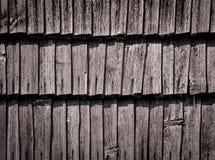 Detail van een oude houten muur Royalty-vrije Stock Afbeeldingen