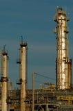 Detail van een raffinaderij 15 Stock Foto