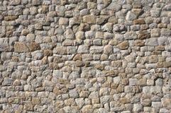 Detail van een steenmuur stock foto's