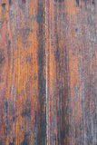 Detail van een stuk van hout stock fotografie