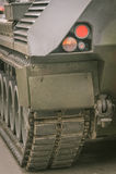 Detail van een tank Stock Fotografie