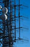 Detail van een transmissietoren Stock Foto's