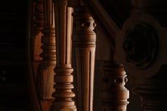Detail van een tredenhandvat Royalty-vrije Stock Foto's