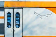 Detail van een treinwagen Royalty-vrije Stock Fotografie