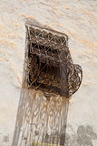 Detail van een Tunesisch venster Royalty-vrije Stock Fotografie