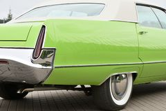 Detail van een uitstekende auto royalty-vrije stock fotografie