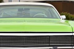 Detail van een uitstekende auto stock foto's