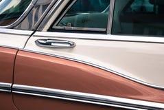 Detail van een veteraanauto stock afbeelding