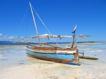 Detail van een vissersboot Stock Foto