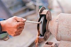 Detail van elektrisch molenhulpmiddel Royalty-vrije Stock Fotografie
